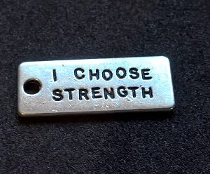 Hängsmycke I Choose Strength
