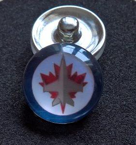 Winnipeg Jets Knappsmycke
